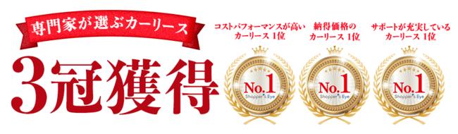 定額カルモくん 3冠獲得