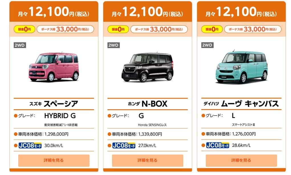 12100円プラン