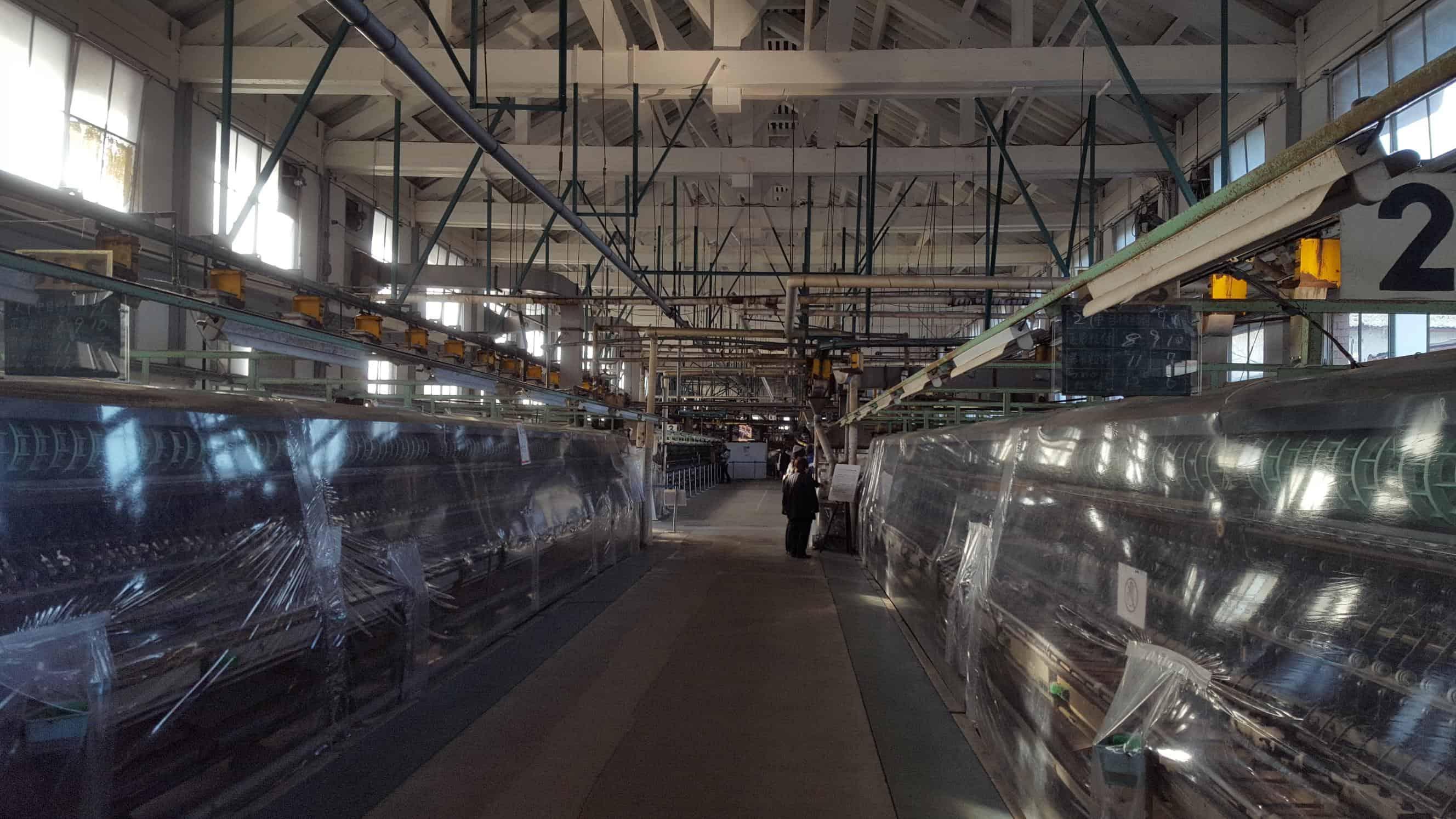 富岡製糸場 作業場