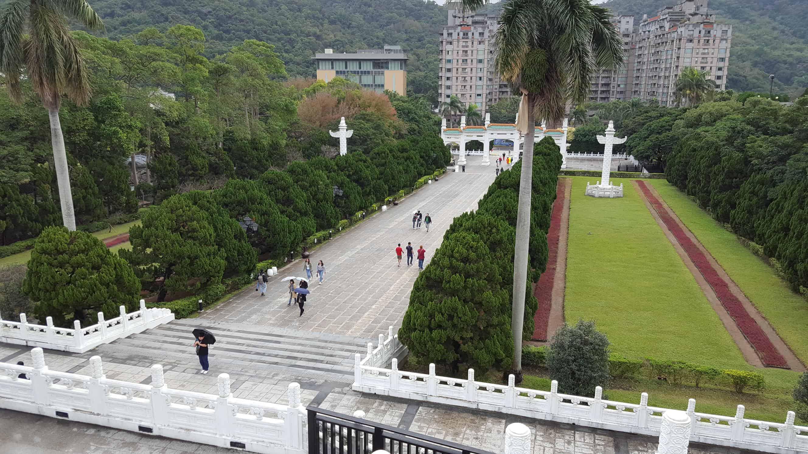 国立故宮博物院 外