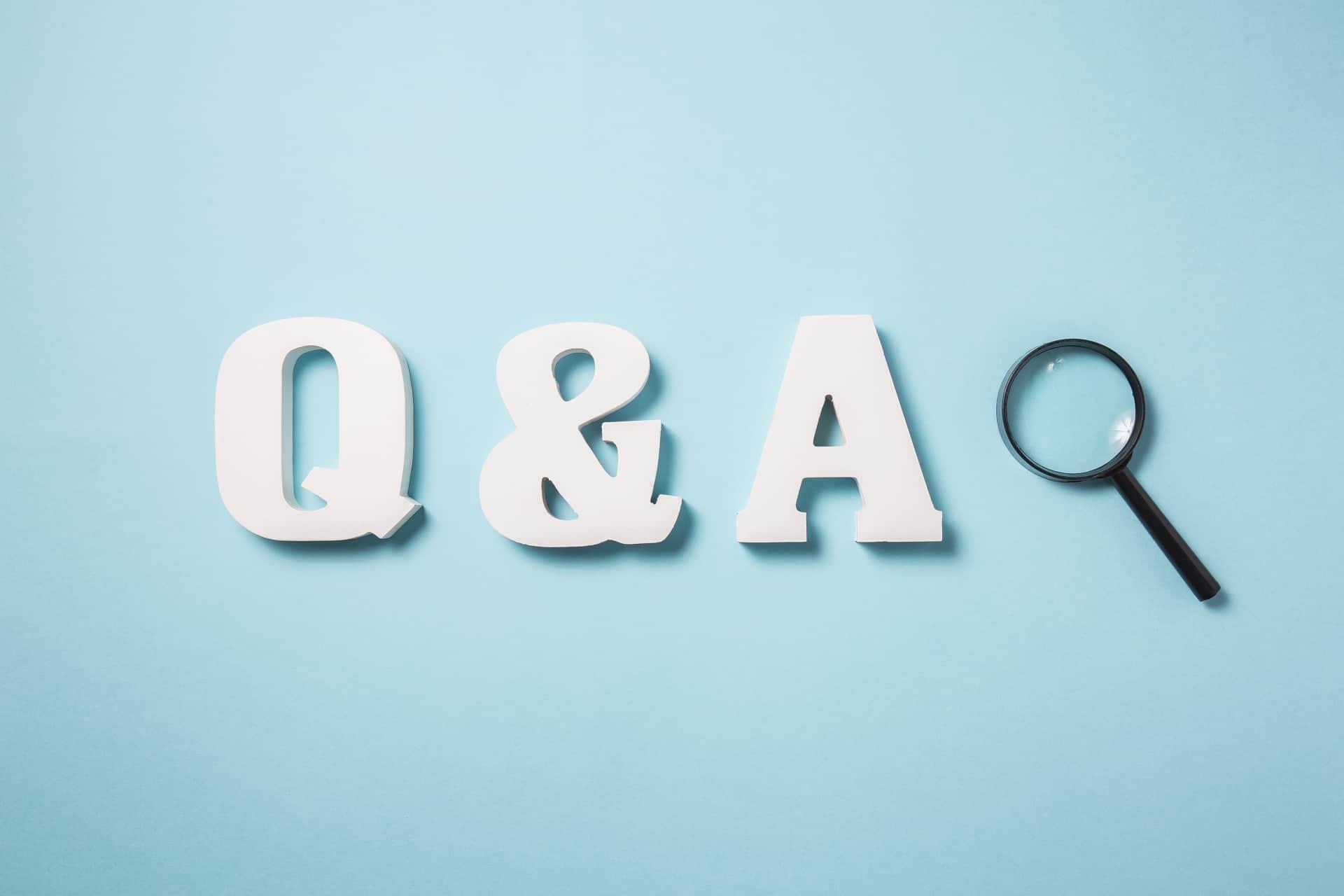 レジャー・ミー! Q&A